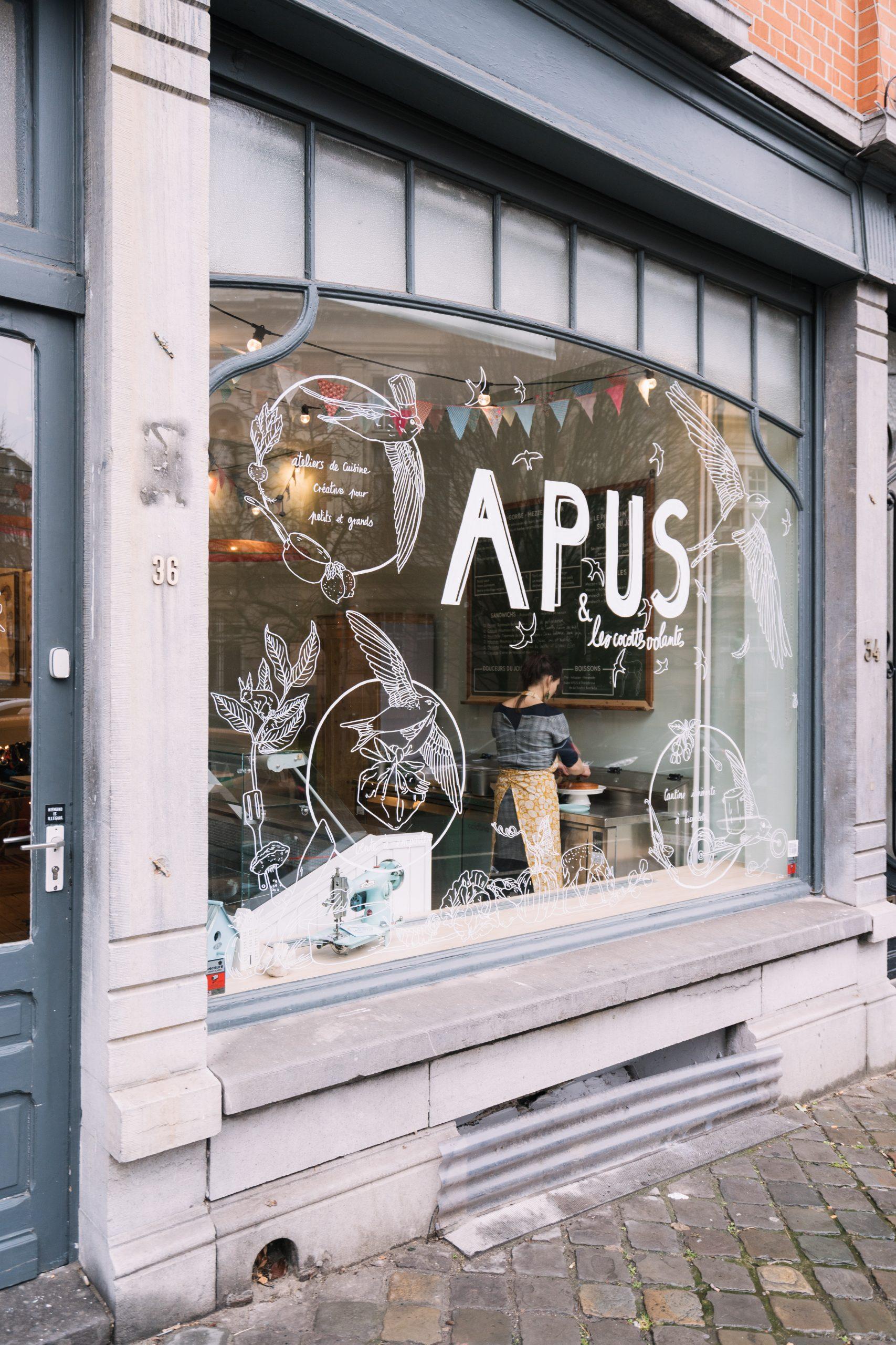 APUS & les cocottes volantes